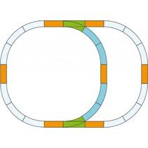 G-Gleis Ergänzungs-Set Überholgleis