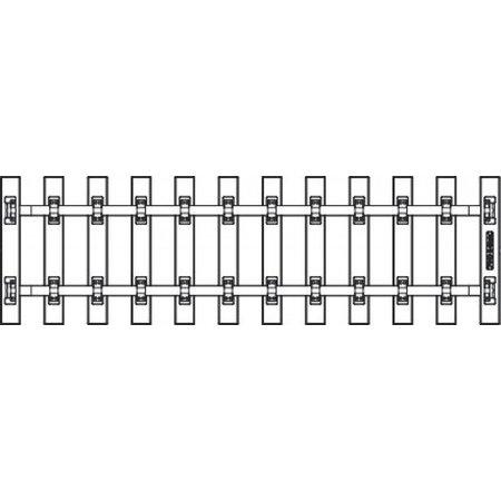 PIKO Schwellenband G-SB280