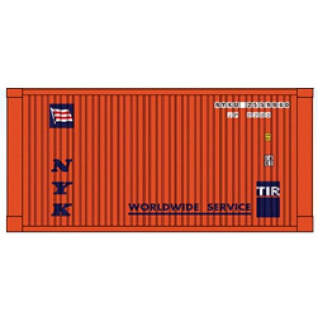 USA TRAINS NYK 20 Ft. Container