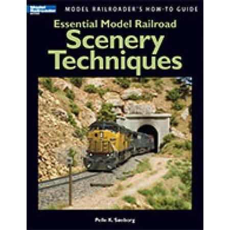Kalmbach Essential Model Railroad Scenery Techniques