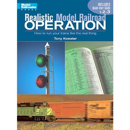 Kalmbach Realistic Model Railroad Operation