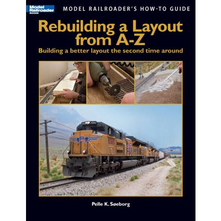Kalmbach Rebuilding a Layout from A to Z (Pre-Order)