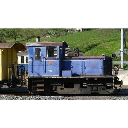 Train Line Diesellok der MOB V 121, analog