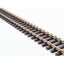 Messing Flexgleis 240cm, vormontiert, incl. Schraubverbinder