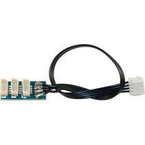 MiniCT 4-polig – 3-fach SUSI Adapterplatine