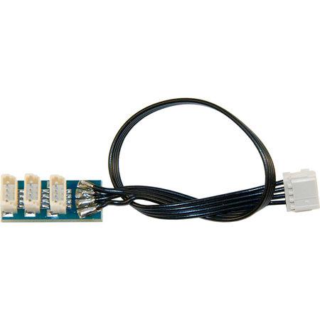 Massoth MiniCT 4-polig – 3-fach SUSI Adapterplatine
