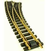 Train Line Bogenweiche rechts 120/210cm , ohne Antrieb