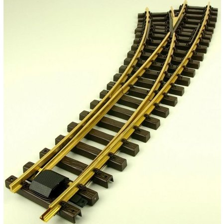 Train Line Elektro/DCC-Bogenweiche links 120/210cm
