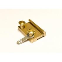 Schraubschienenverbinder 19mm Messing (100 Stk)