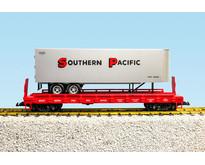 Piggyback Flatcar Southern Pacific mit Trailer
