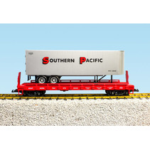 Piggyback Flatcar Southern Pacific mit Trailer
