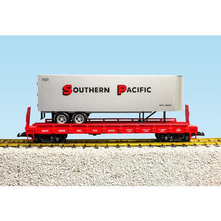 USA TRAINS Piggyback Flatcar Southern Pacific mit Trailer