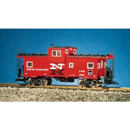 USA TRAINS Extended Vision Caboose New Haven