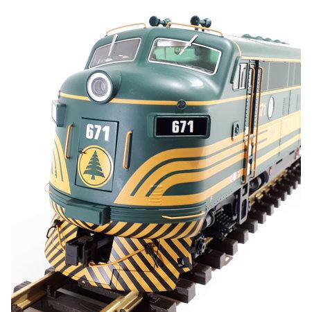 USA TRAINS F3 AB Maine Central (2 Loks)