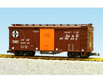 Outside Braced Boxcar Santa Fe (#212862)