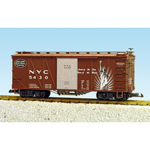 """Outside Braced Boxcar NYC (#5430) """"Heritage Series"""""""