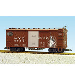 """USA TRAINS Outside Braced Boxcar NYC (#5431) """"Heritage Series"""""""