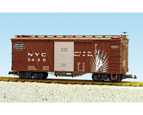 """Outside Braced Boxcar NYC (#5431) """"Heritage Series"""""""