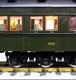 USA TRAINS Pennsylvania Broadway Limited Baggage Club -Liberty Cap-