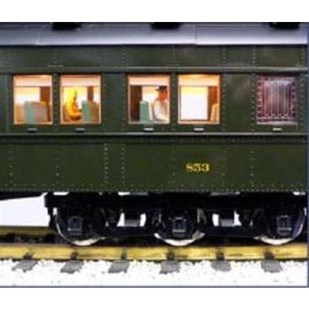 USA TRAINS Pennsylvania Broadway Limited Coach #2-1040-