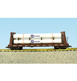 USA TRAINS Pipe Load Flat Car Canadian Pacific beladen mit Rohren