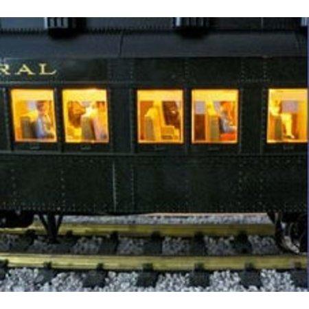USA TRAINS Pennsylvania Broadway Limited Sleeper #3 -Gray Oak-
