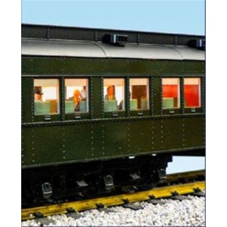 USA TRAINS Union Pacific Overland Route Baggage Club Car -Devel-