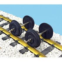 Achsen für Streamliner geschwärzt