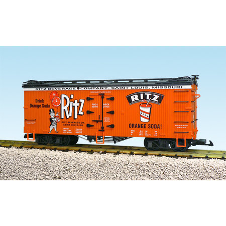 USA TRAINS Reefer Ritz Orange Soda