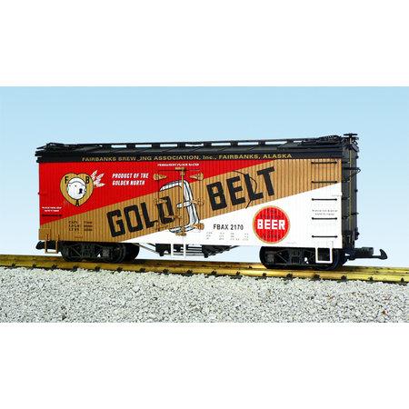 USA TRAINS Reefer Gold Belt Beer