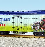 USA TRAINS Reefer Pioneer Club Beer