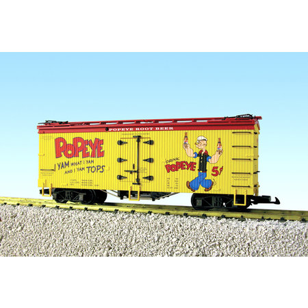 USA TRAINS Reefer Popeye Root Beer