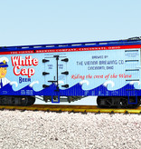 USA TRAINS Reefer White Cap Beer