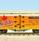 USA TRAINS Reefer Molsen Canadian Beer