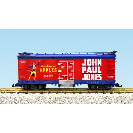 USA TRAINS Reefer John Paul Jones Apples