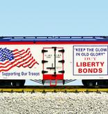 "USA TRAINS Reefer Liberty Bonds ""Old Glory"""