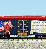 USA TRAINS ReeferPledge of Allegiance