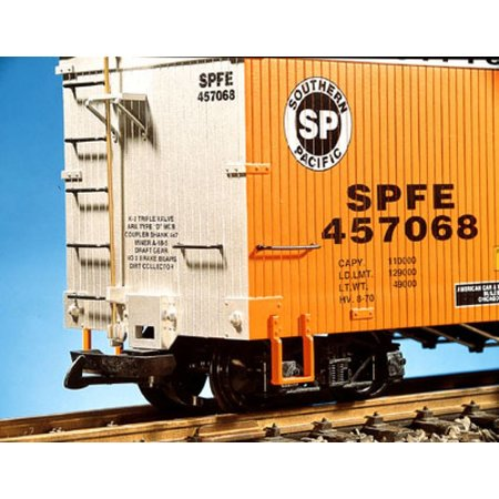 USA TRAINS Reefer Western Pacific Ice Service #7058