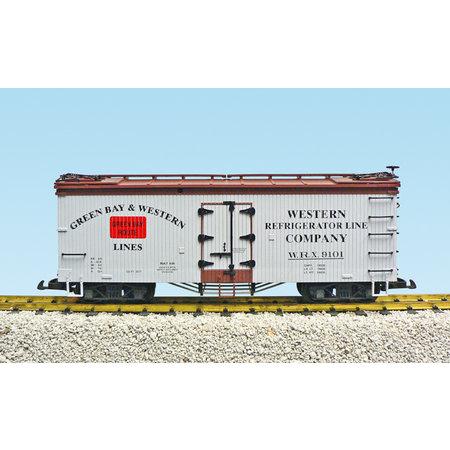 USA TRAINS Reefer Green Bay & Western #9102