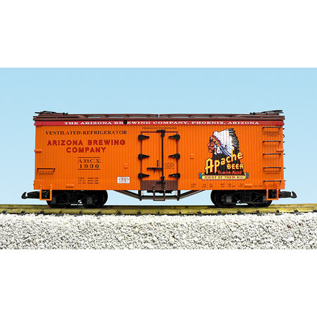 USA TRAINS Reefer Apache Beer #1935