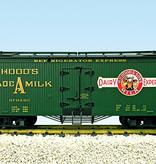 USA TRAINS Reefer Hoods Milk #210