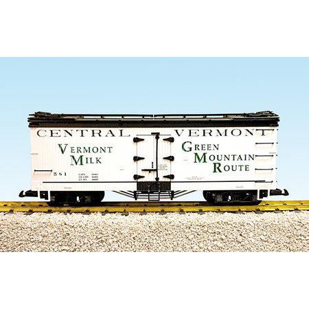 USA TRAINS Reefer Vermont Milk #580