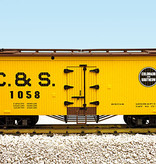 USA TRAINS Reefer Colorado Southern #1058