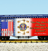 USA TRAINS Reefer We Stand for the National Anthem
