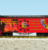 USA TRAINS Reefer California Firefighters