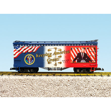 USA TRAINS Reefer Keeping America Great