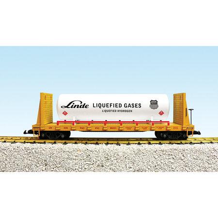 USA TRAINS Bulkend Flat Car Union Pacific #98231  beladen mit Tank