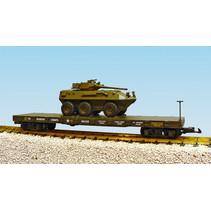 USMC Flatcar  mit gepanzerten Fahrzeug