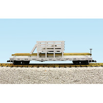 D & RGW Rail and Tie Car