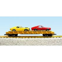Auto Flatcar Union Pacific beladen mit 2 Autos